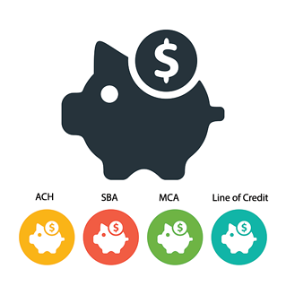 Piggy-Bank-with-4-Small-Banks-Retail-Loan-Options.png